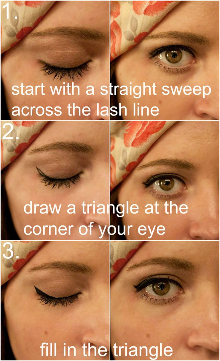 25+ Best Ideas About Subtle Cat Eye On Pinterest  Cat Eye How To, Smudged  Eyeliner And Simple Eyeliner