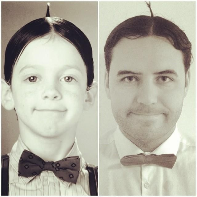 Man Documents Mustache Progress With Celebrity Inspired Selfies ( 6 Pics )
