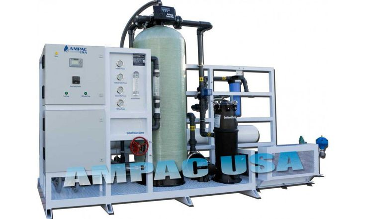 Sea Water Desalination Land based watermakers 20,000 GPD/ 75,700 LPD, SW20K-LX