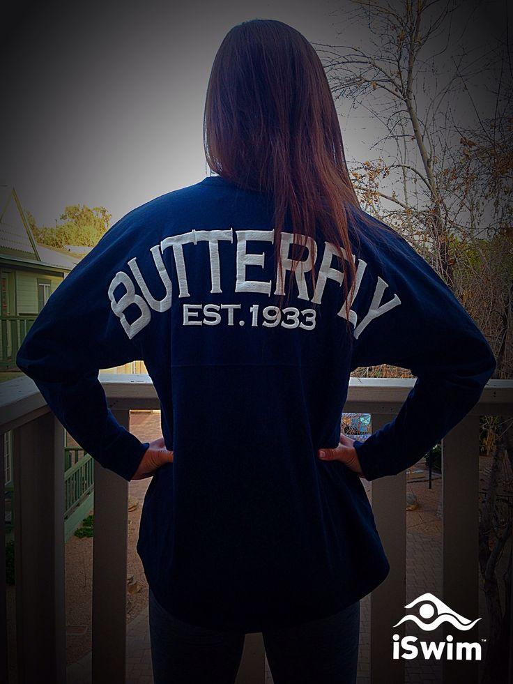 Butterfly Swim Jersey