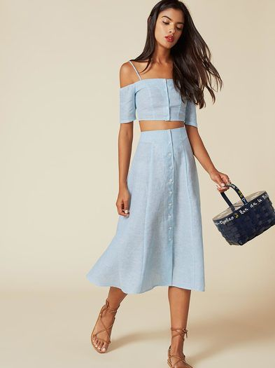 The Ava Two Piece  https://www.thereformation.com/products/ava-two-piece-lakeshore?utm_source=pinterest&utm_medium=organic&utm_campaign=PinterestOwnedPins