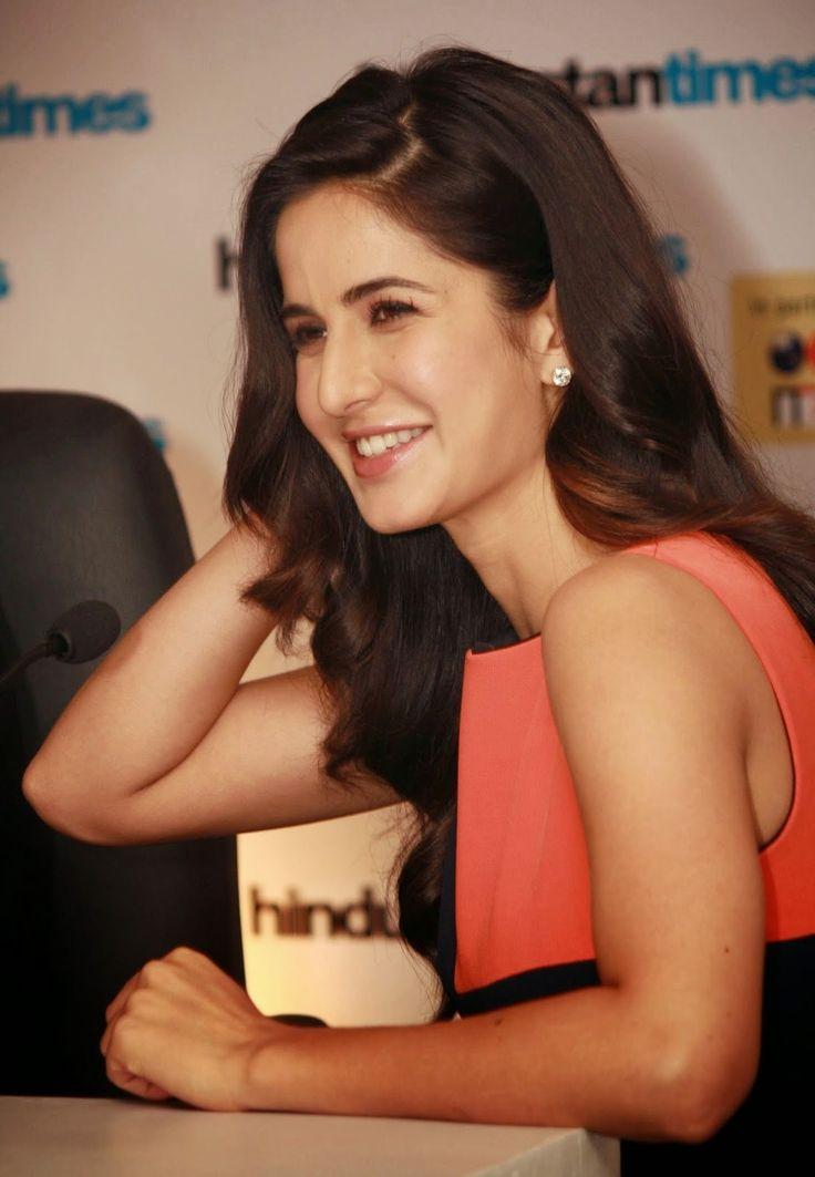 Beautiful smile of Katrina