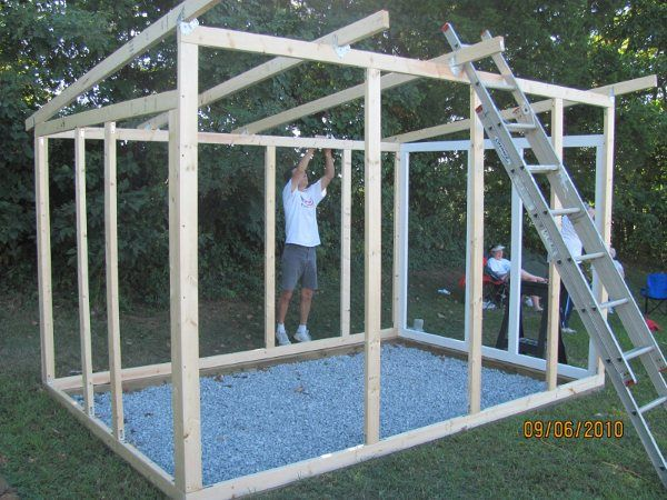 How to make your own chicken coop the readyblog for Chicken run plans