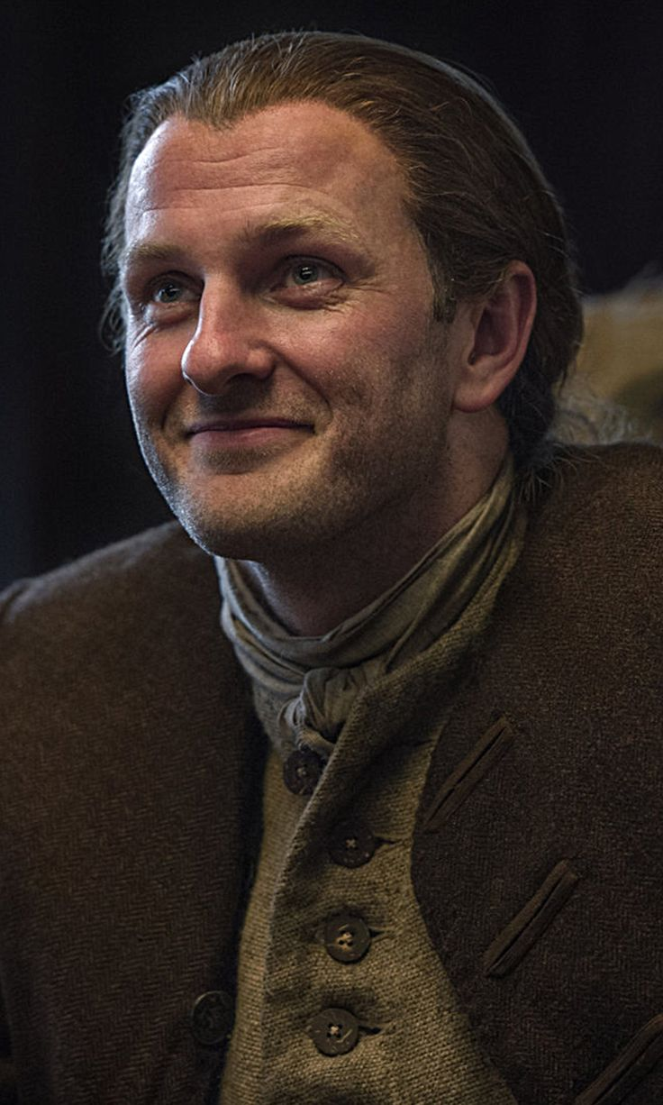 Steven Cree as Ian Murray in Outlander on Starz