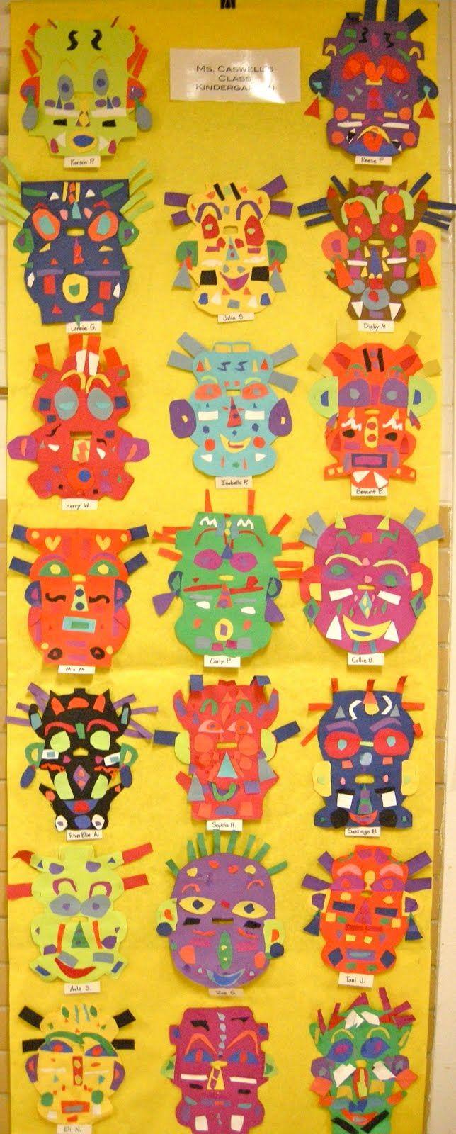 Zilker Elementary Art Class: School-wide Student Art Show   # Pinterest++ for iPad #