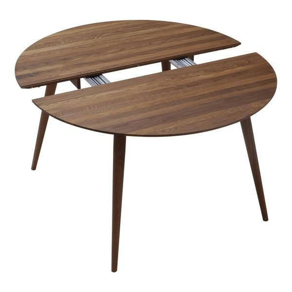 Playdinner Round Table W Extension Round Dining Room Table
