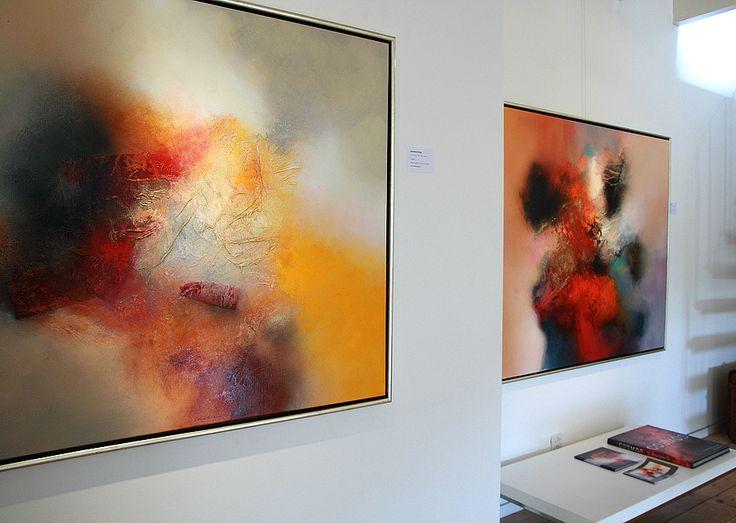 Eelco Maan I lyrical abstract paintings I  Atelierroute Steenwijkerland I 2012