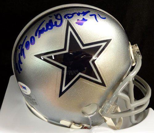 Ed Jones Dallas Cowboys Helmets