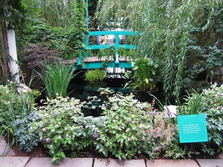 Monetu0027s Garden At The Bronx Botanical Gardens