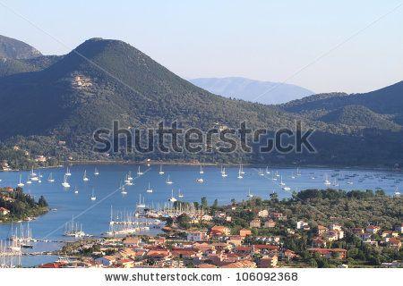 Nidri in Lefkada island, Greece