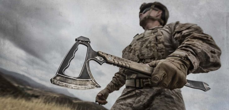 Gerber Tactical Gear Downrange Tomahawk. This was Justin.... I still love you everyday.