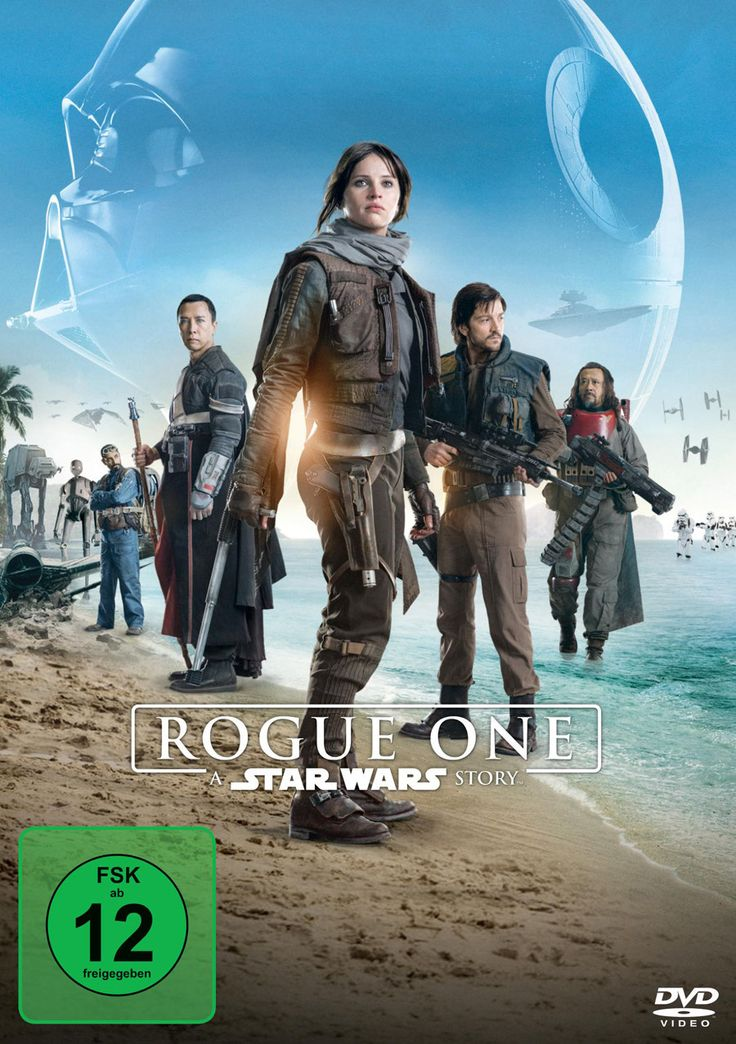 Rogue One A Star Wars Story - Lucasfilm - German DVD Packshot - kulturmaterial