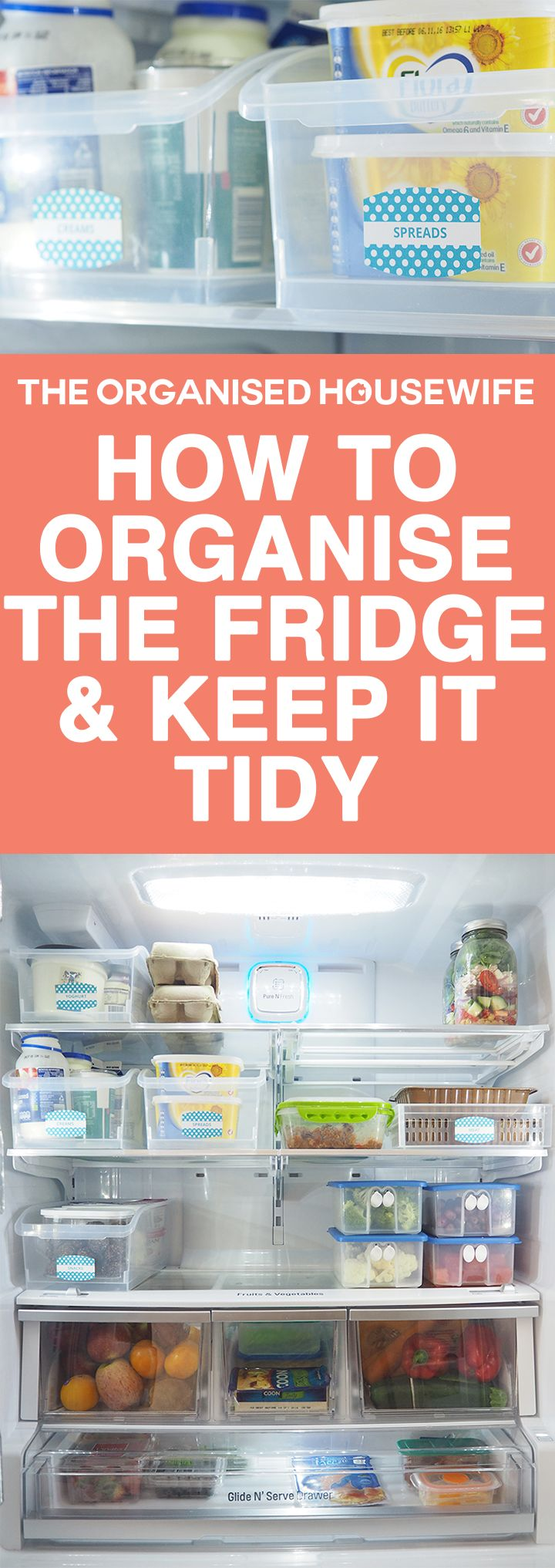 How To Organise The Fridge And Keep It Tidy Shopping