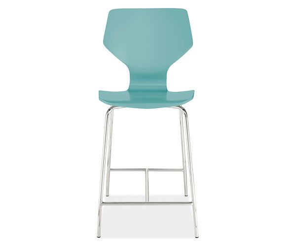 Room Board Pike Counter Stool Colors White Ocean Blue