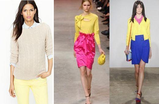combinaciones con amarillo  http://creandotuestilo.com/2012/02/06/2309/