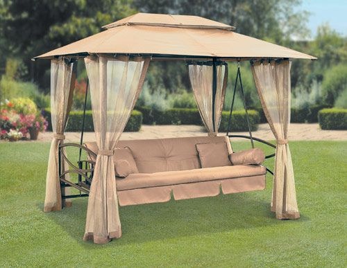 Free standing swing with canopy. Outdoor ... & 66 best Samu0027s Dreamu0027s - Swingu0027s images on Pinterest | Sun lounger ...