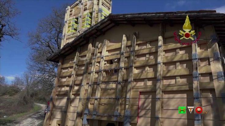 Vigili del Fuoco - Saccovescio - Messa in sicurezza Chiesa di Santo Spes...