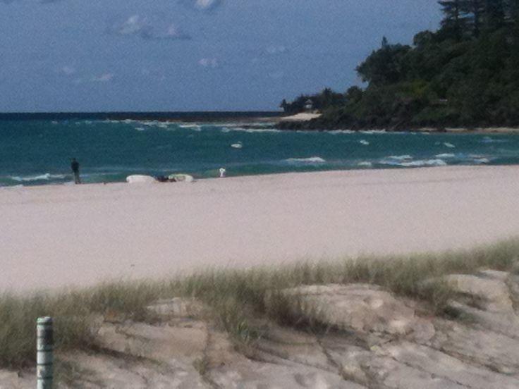 Lovely bay Sth of Byron Bay, NSW