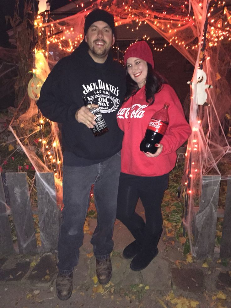 Jack and coke Halloween costume!!!