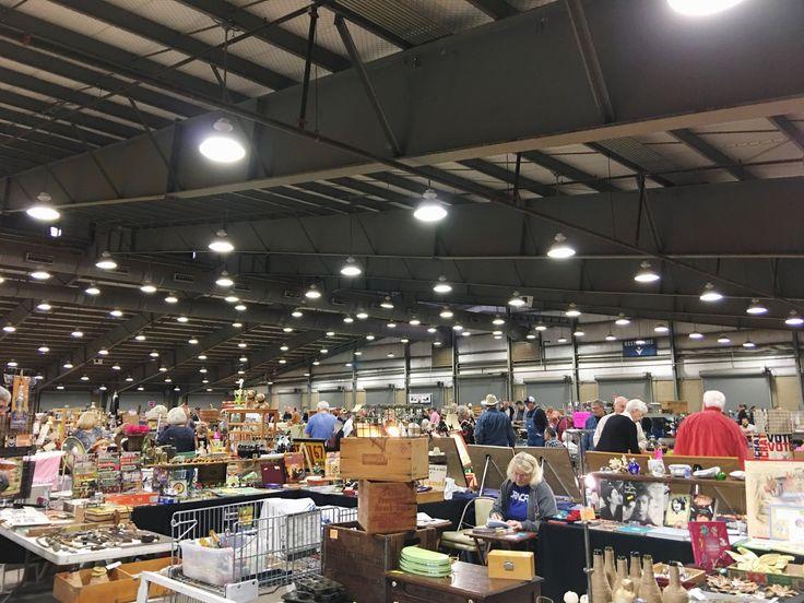 Vintage Shopping in Tulsa: The Tulsa Flea Market and First Street Flea