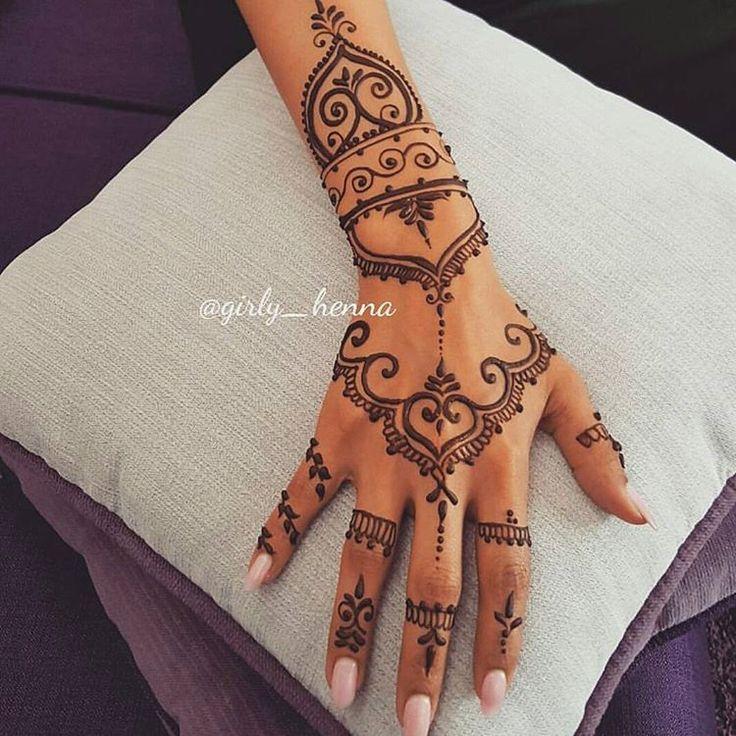 51 best henna tattoo images on pinterest tattoo ideen. Black Bedroom Furniture Sets. Home Design Ideas