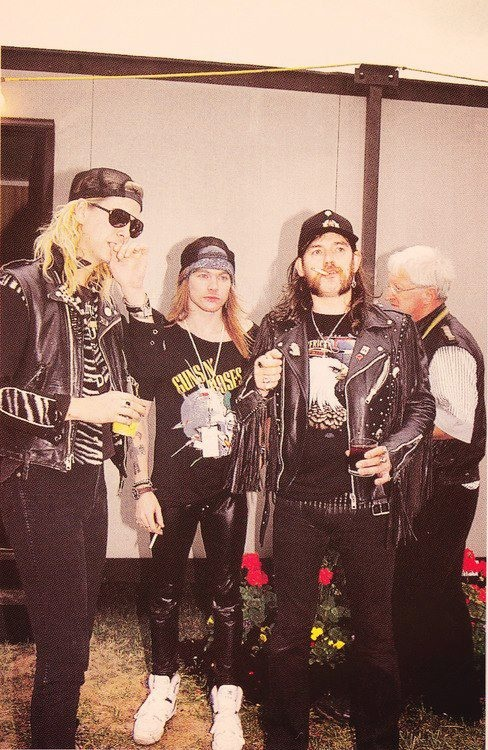 Duff, Axl, and Lemmy! m/                                                       …