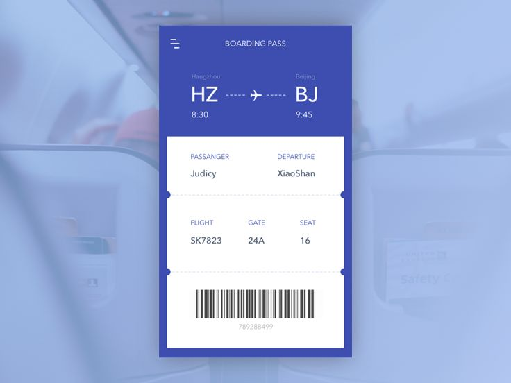 Day 018 - Boarding pass by Judicy