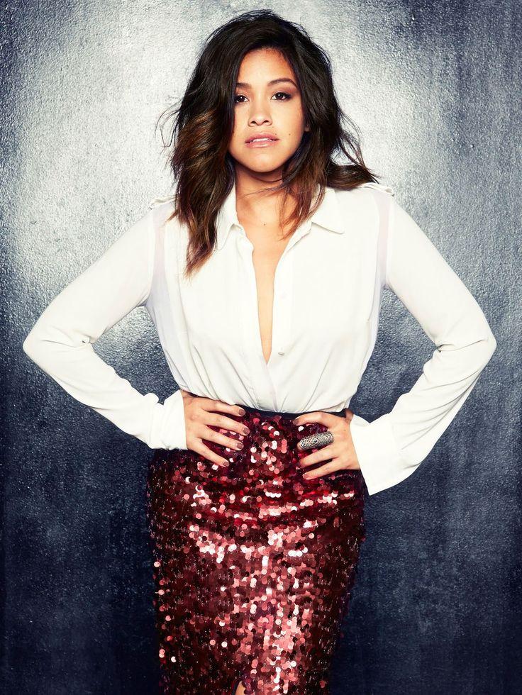 Gina Rodriguez photographed for BELLO Magazine (November 2014).