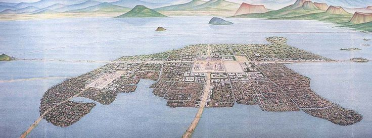 Aztec Empire Facts  The city of Tenochtitlan was built in the middle of the salt lake Texcoco. They built in the middle of the lake because they believed they were commanded to by the God of Sun and War Huitzilopochtli.