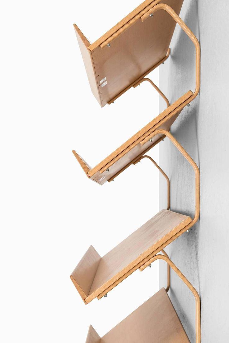 Bruno Mathsson Bookcase in Beech by Bruno Mathsson International in Sweden image 3