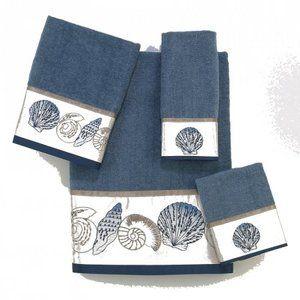 Shells, Towels and Slate on Pinterest