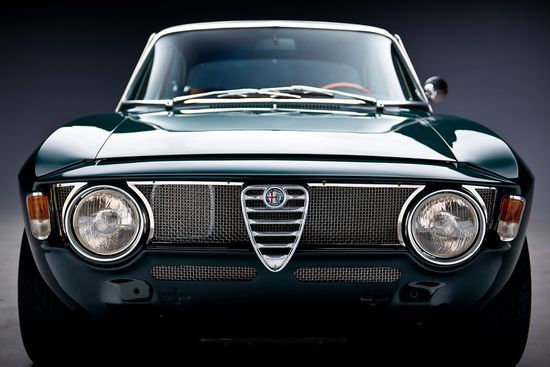 Beautiful front grill