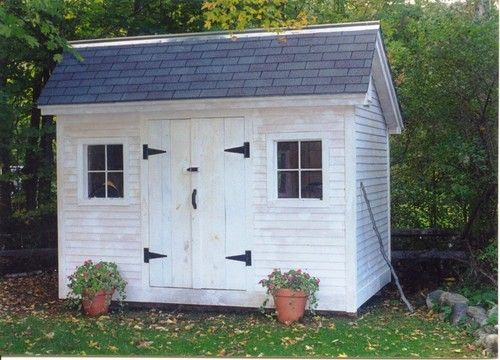 Diy plans 8x12 church street storage shed kids playhouse for Playhouse with garage plans