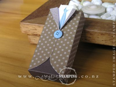 Mini Suit Chocolate Box by Kristine McNickell