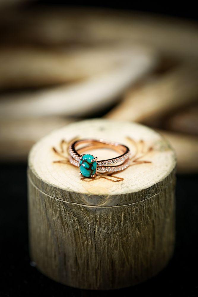 Turquoise Engagement Ring Turquoise Wedding Ring Etsy Wedding Rings Custom Ring Custom Turquoise Ring Engagement Turquoise Wedding Rings Etsy Wedding Rings