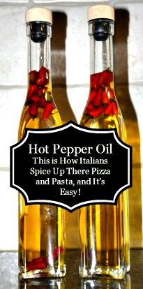 Homemade Hot Pepper Oil Recipe