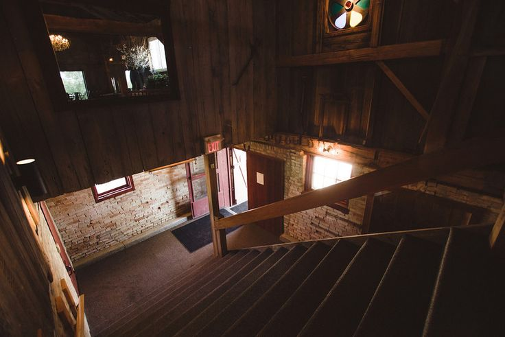 Main Entrance- Barn Stairs- Exeter Golf Club