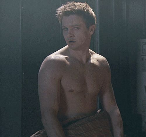 Jeremy Renner - From The Unusuals...such a funny scene!