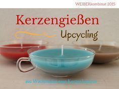 How to produce new candles from stubs. Kerzen aus Wachsresten.