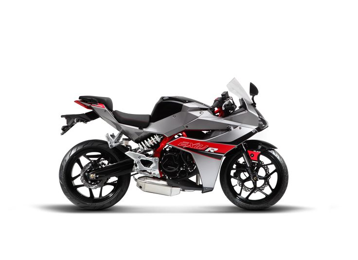 Arriving Early April 2015 The Brand New Hyosung 2015 GD250R Exiv-R Silver