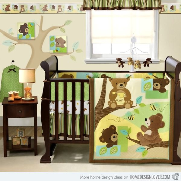 17 Best Images About Teddy Bear Nursery On Pinterest