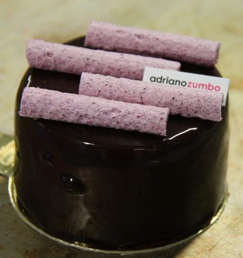Adriano Zumbo's chocolate mousse