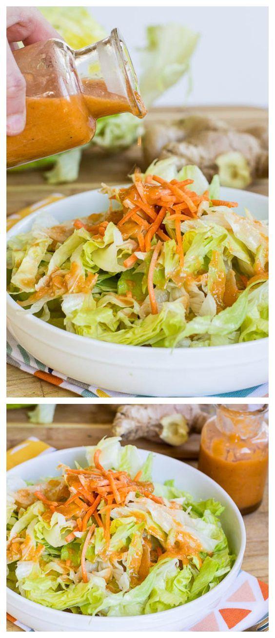 Ginger Salad Dressing (Benihana copycat). Tastes like your favorite Japanese Steak House.