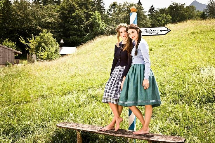 Sweet everyday style. Trachtenmode at its best by Julia Trentini Dirndl FS 2017