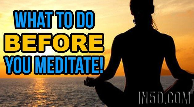 Meditation Techniques - What To Do BEFORE You Meditate! #EasyMeditationTechniques