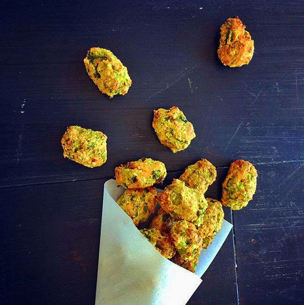 The obvious solution is to turn VEGETABLES into TOTS. Everybody WINS. | Here's A Veggie-Filled Snack Even Picky Eaters Will Love