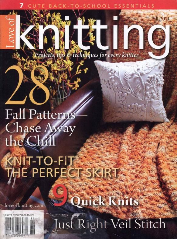 Love of Knitting fall 2011