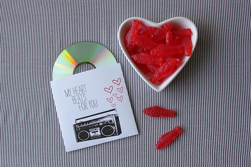 quick valentines: My Heart Beats for You