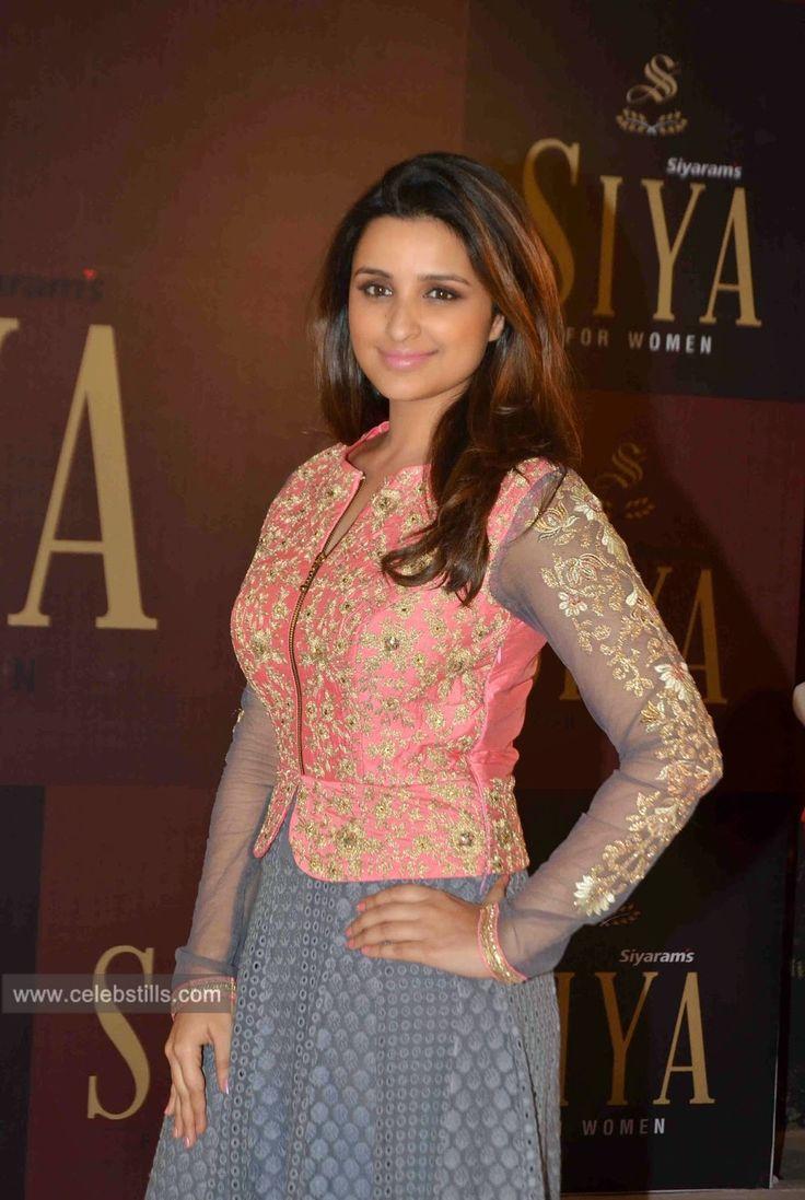 celebstills: Parineeti Chopra Launches Siyaram's SIYA Fashion Brand Photos