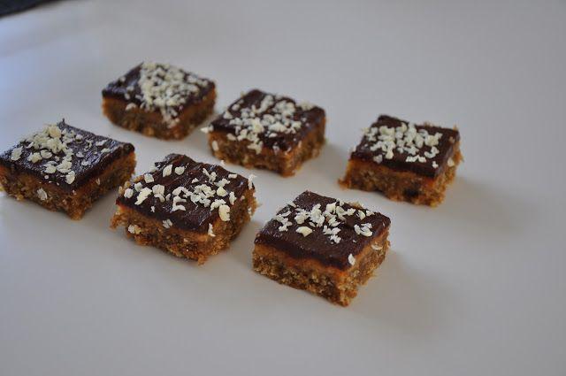 Miss Mette: Konfektkage med karamel og kokos